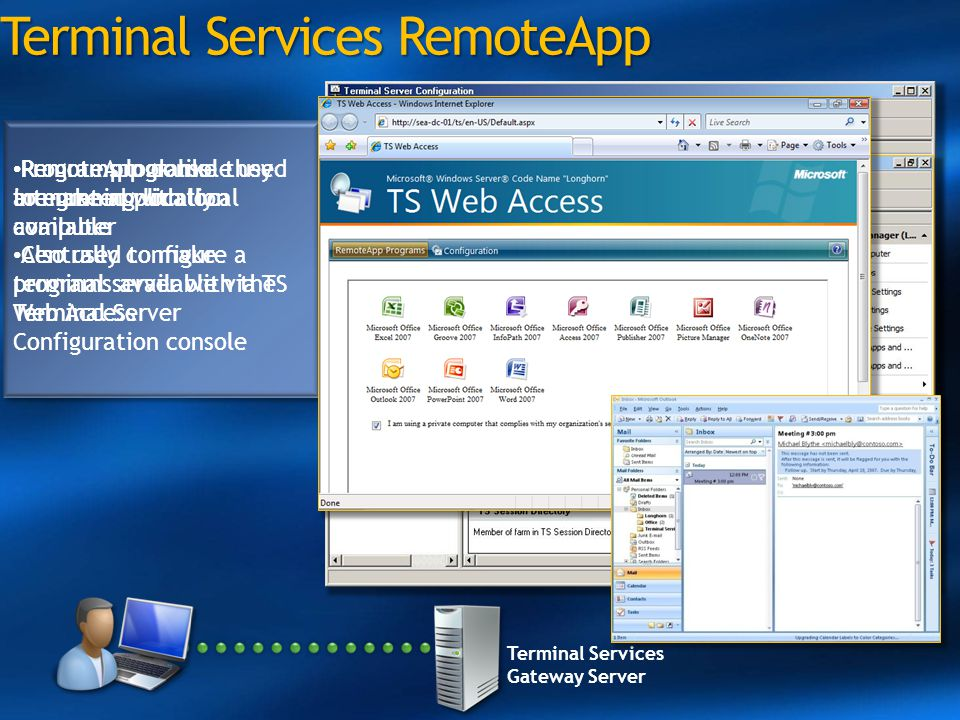 Terminal Services RemoteApp