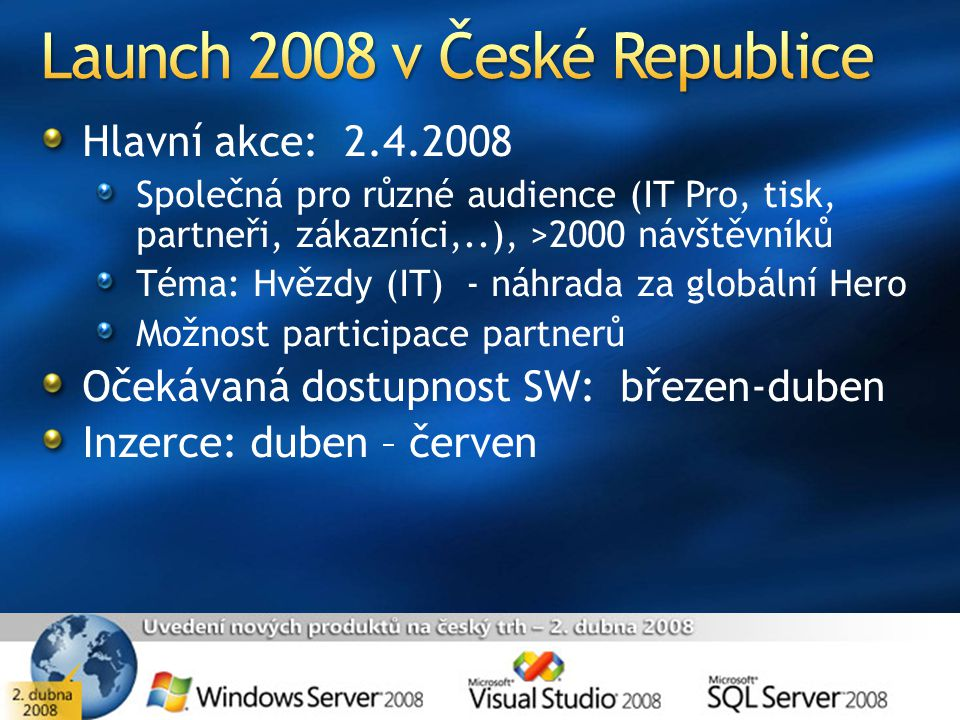 Launch 2008 v České Republice