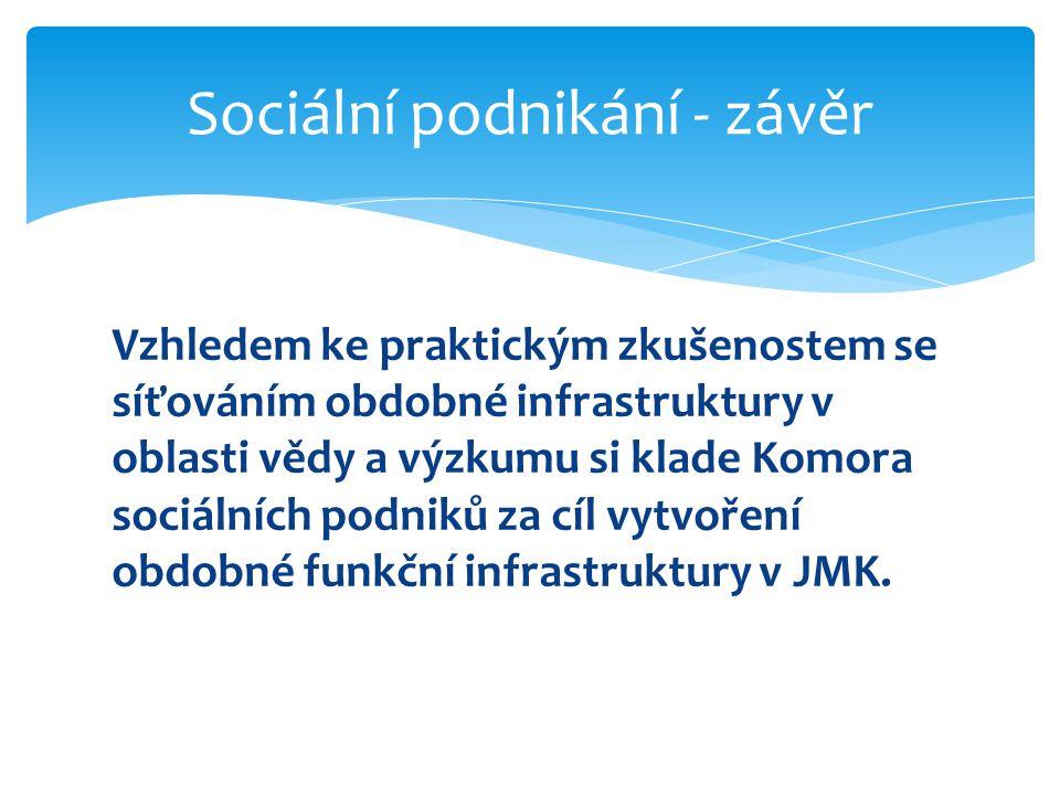 Sociální podnikání - závěr