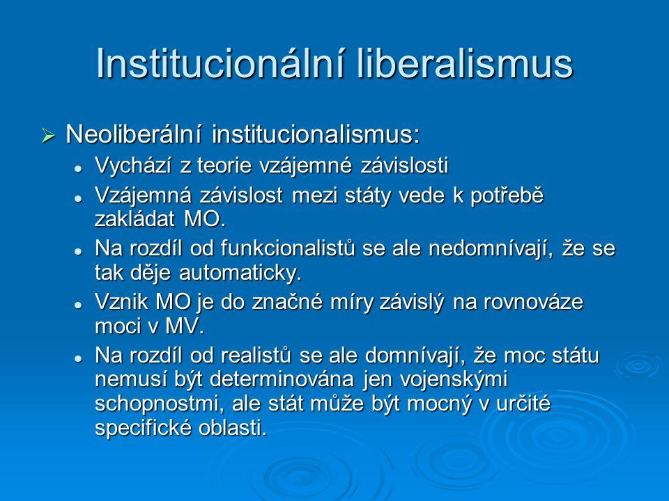 Institucionální liberalismus