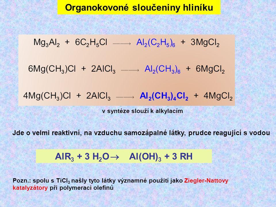Organokovoné sloučeniny hliníku