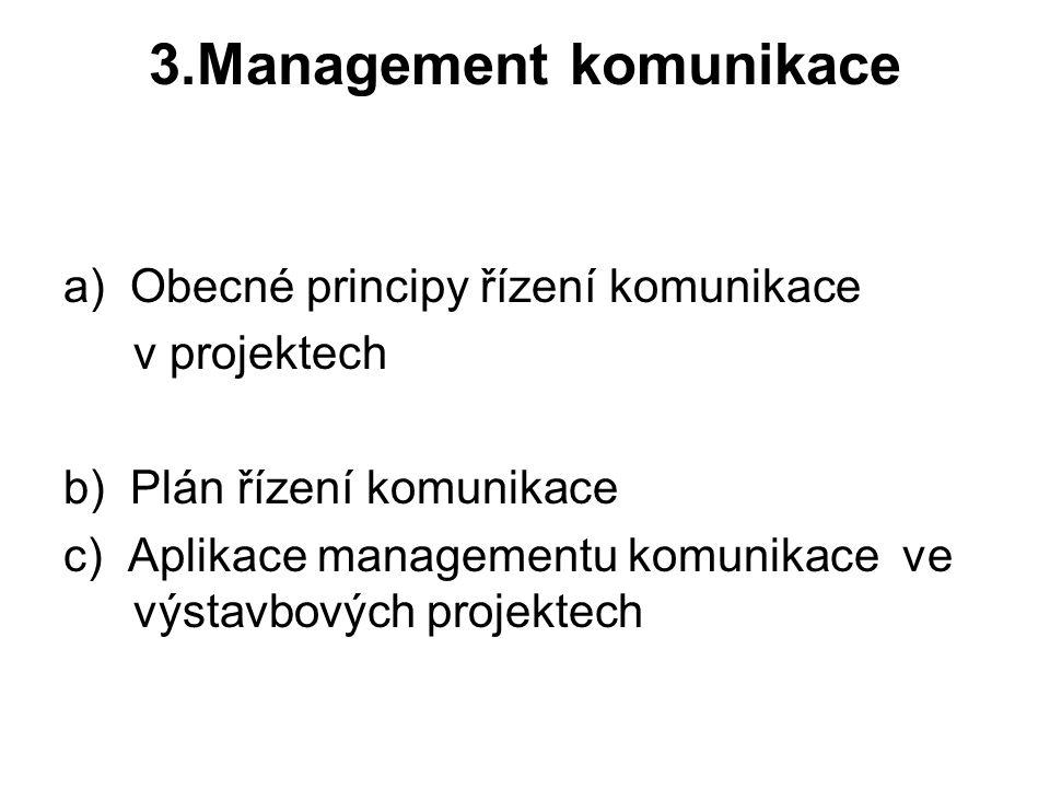 3.Management komunikace