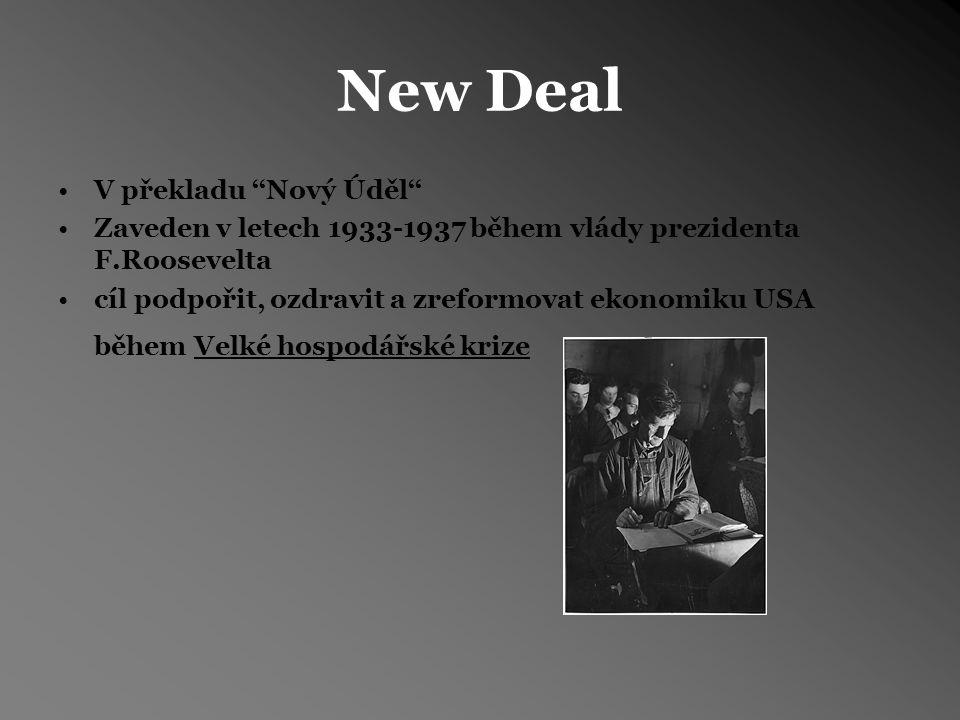 New Deal V překladu ''Nový Úděl''