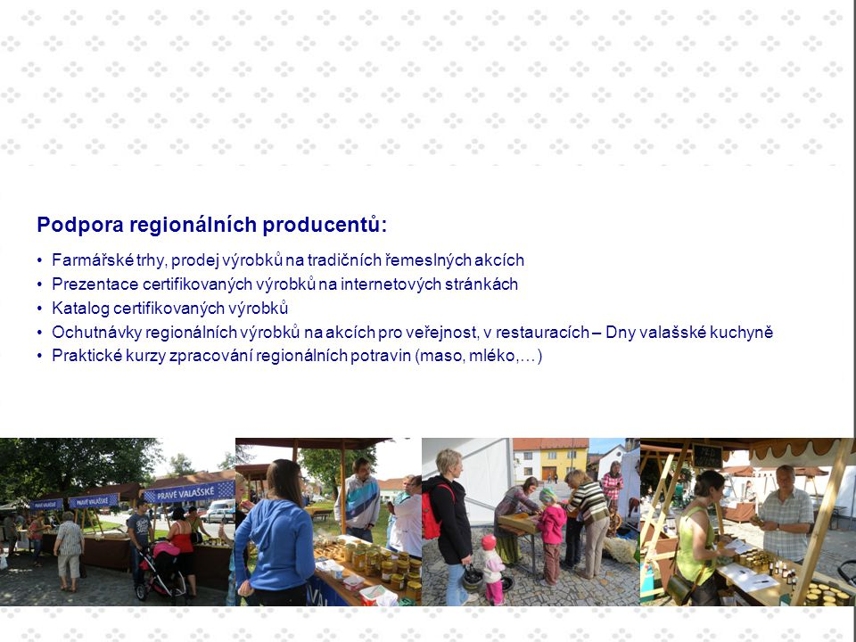 Podpora regionálních producentů: