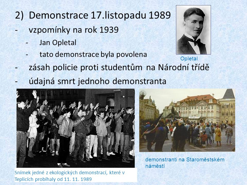 Demonstrace 17.listopadu 1989