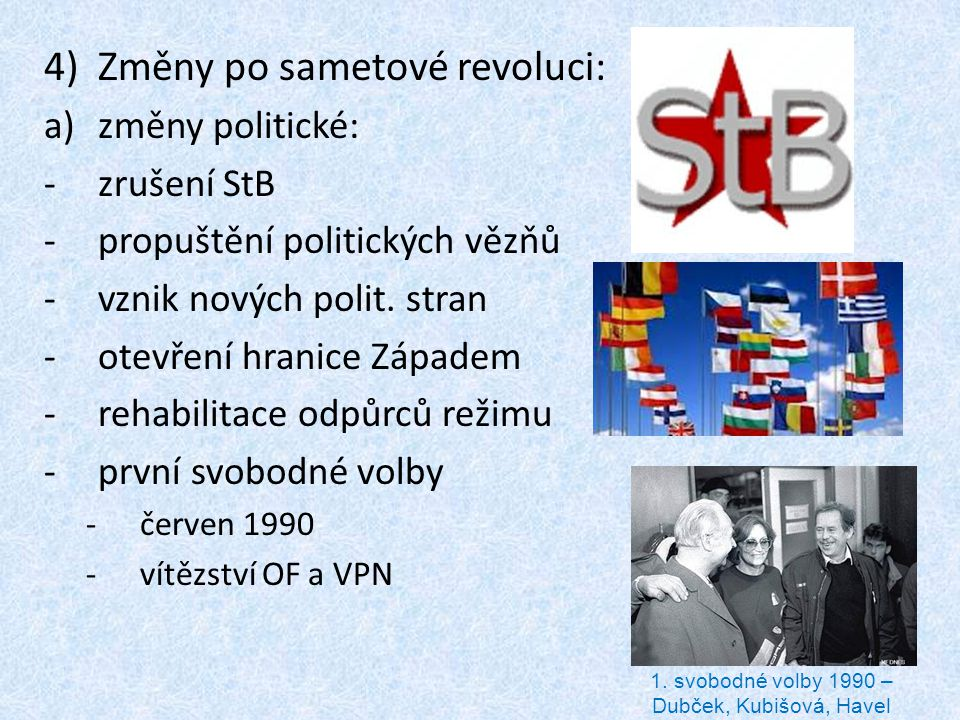 1. svobodné volby 1990 – Dubček, Kubišová, Havel
