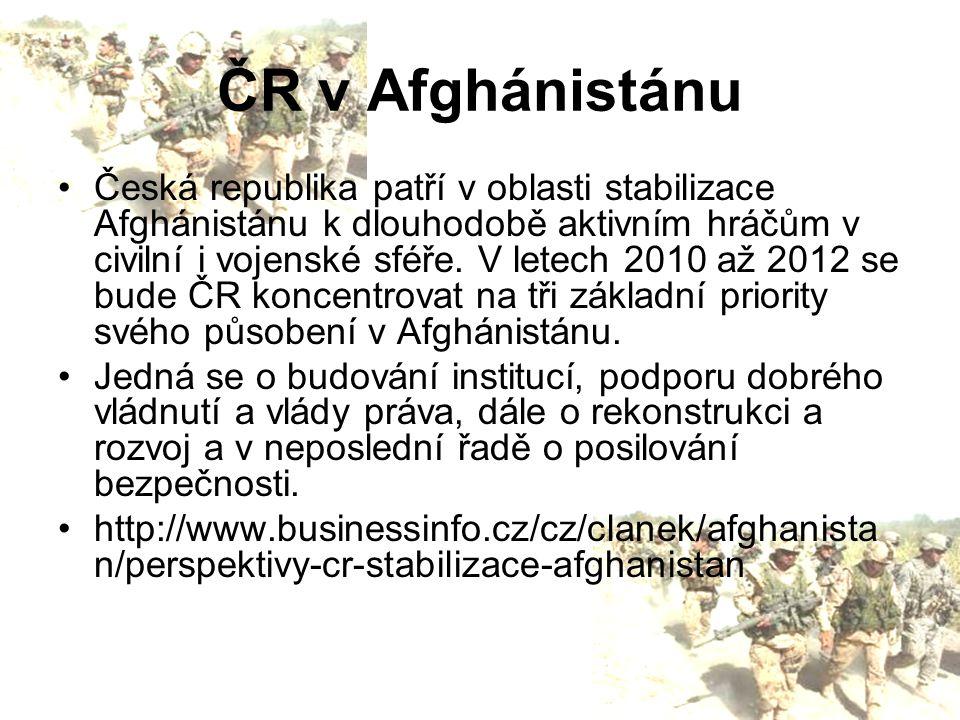 ČR v Afghánistánu