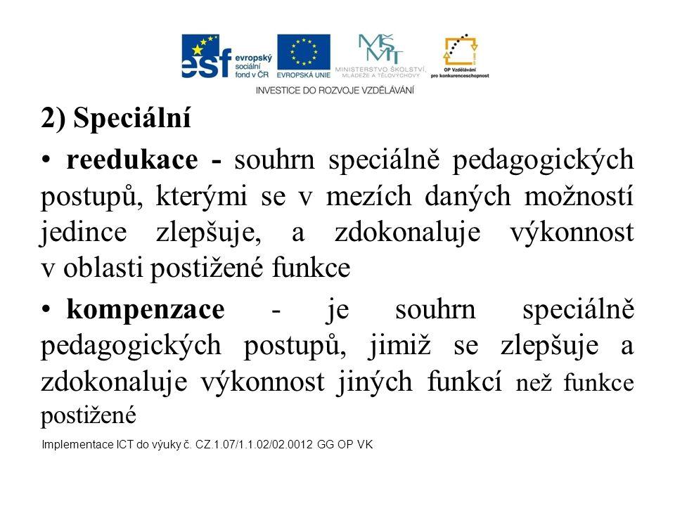 2) Speciální