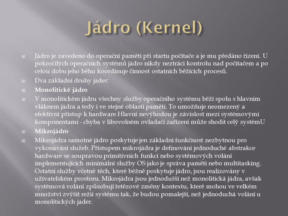 Jádro (Kernel)
