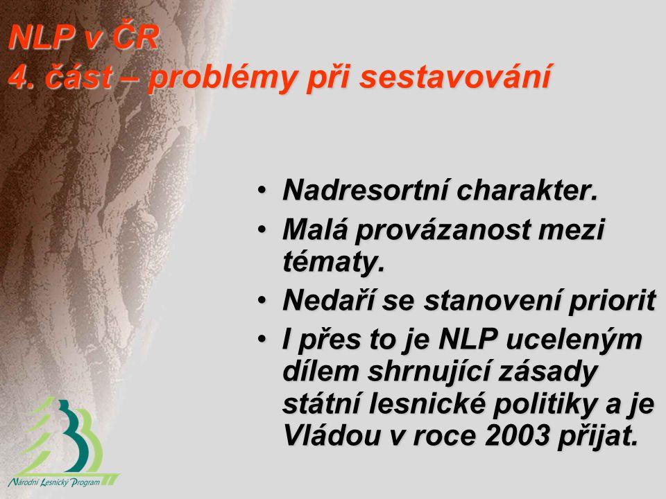 NLP v ČR 4. část – problémy při sestavování