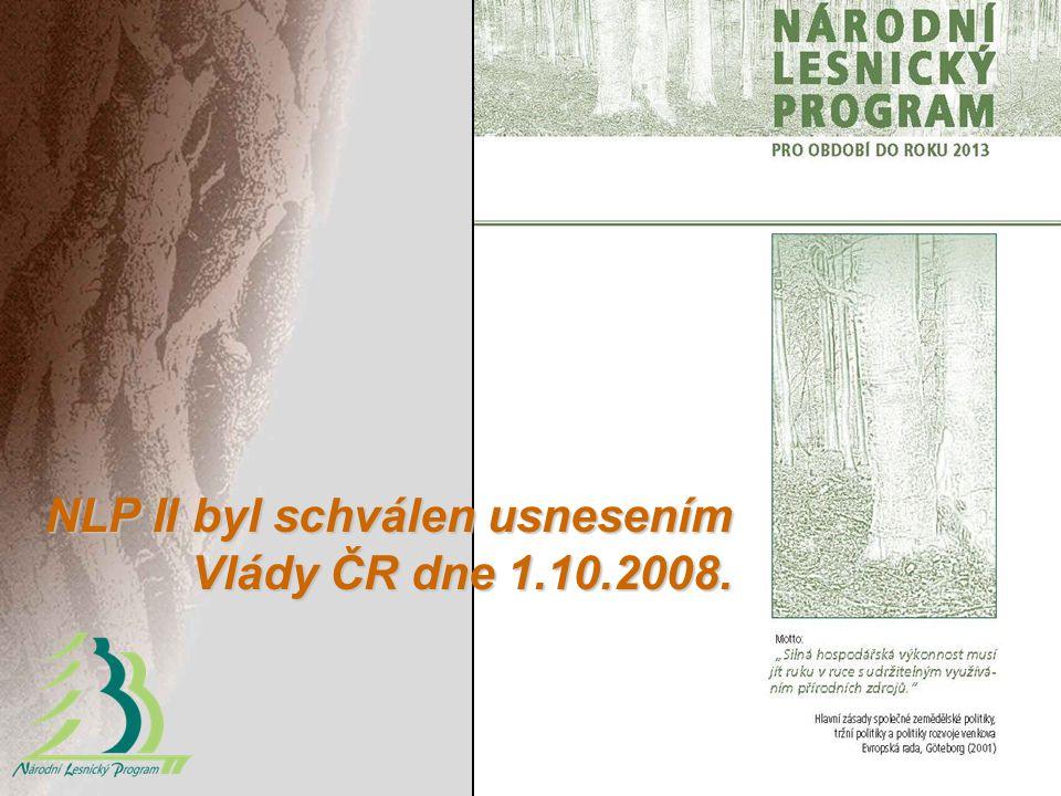 NLP II byl schválen usnesením Vlády ČR dne 1.10.2008.