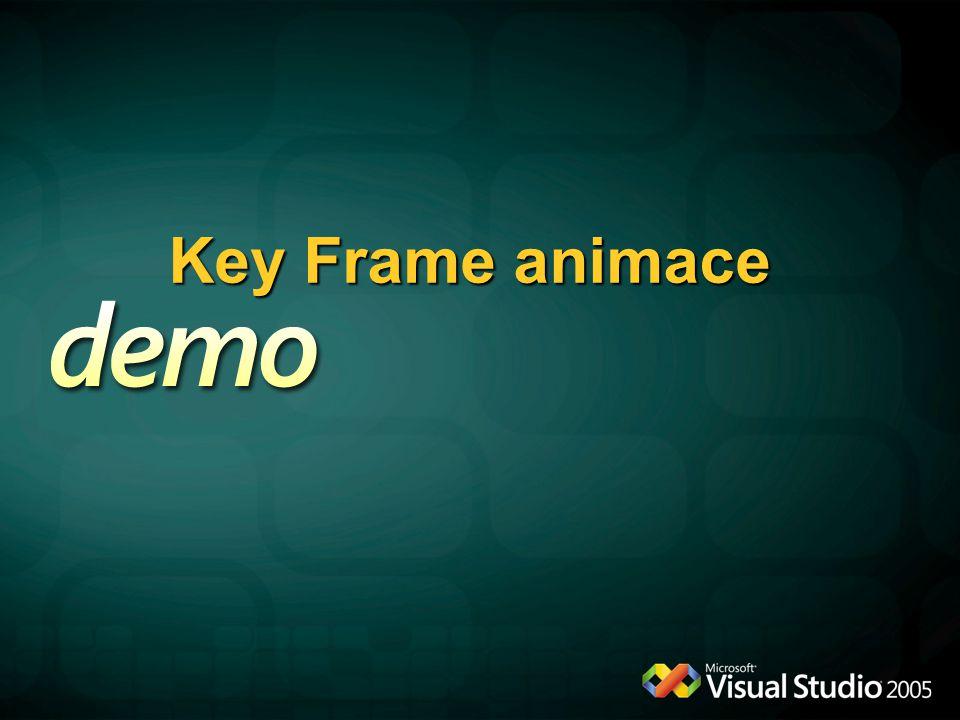Key Frame animace