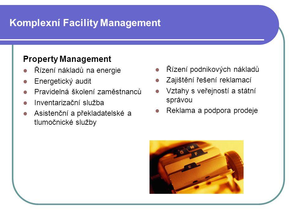 Komplexní Facility Management