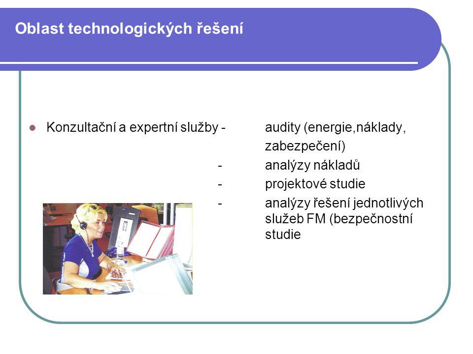 Oblast technologických řešení