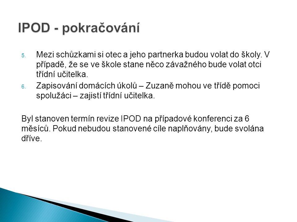 IPOD - pokračování
