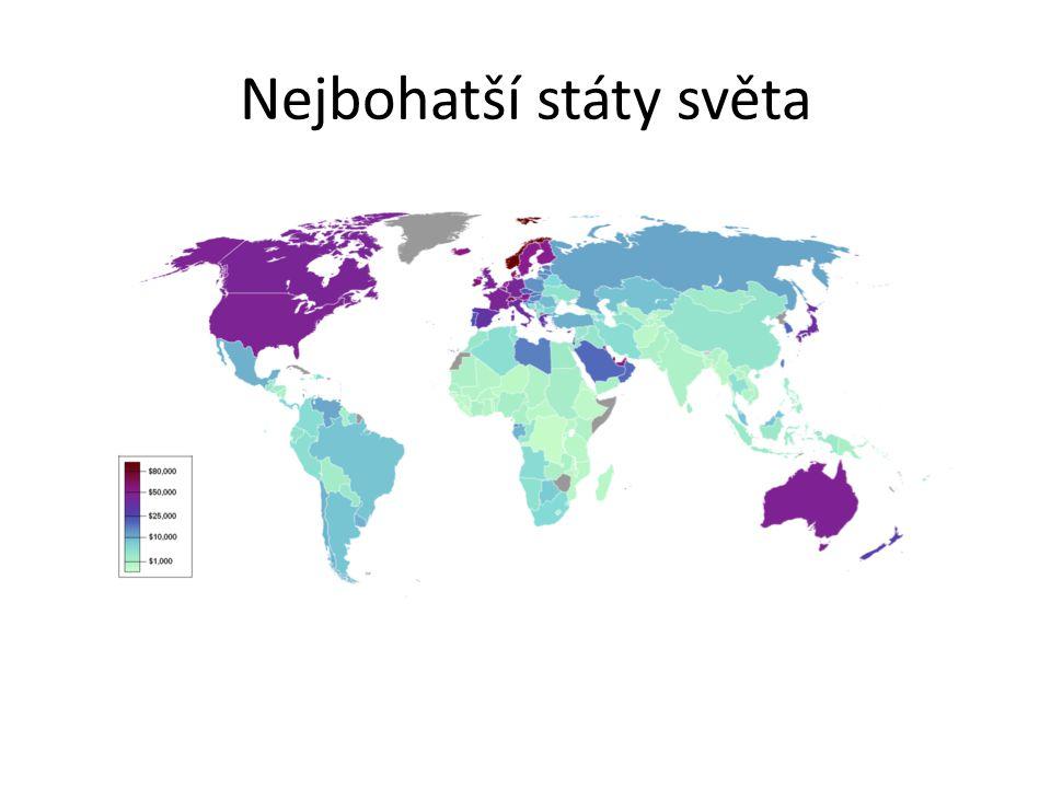 Nejbohatší státy světa