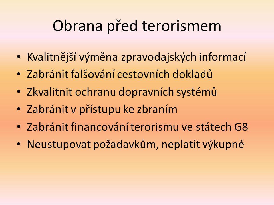 Obrana před terorismem