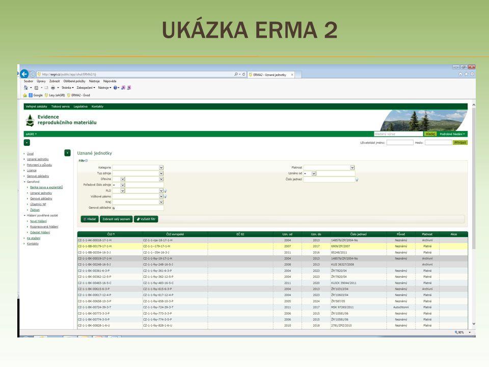 Ukázka ERMA 2