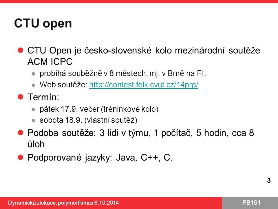 CTU open CTU Open je česko-slovenské kolo mezinárodní soutěže ACM ICPC