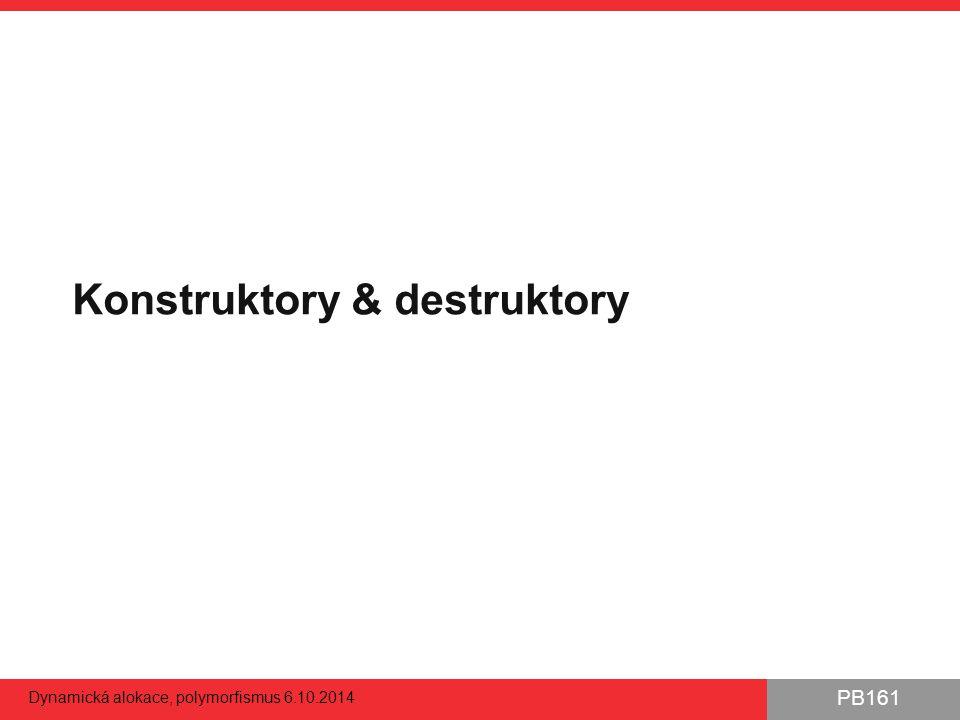 Konstruktory & destruktory