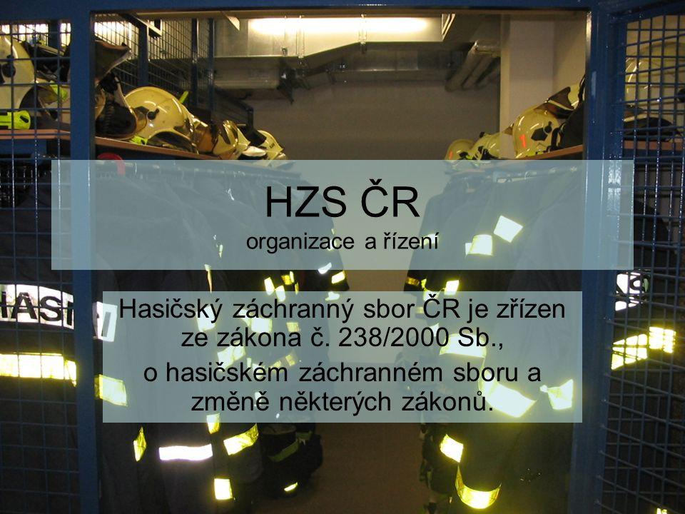 HZS ČR organizace a řízení