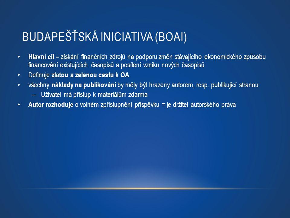 Budapešťská iniciativa (BOAI)