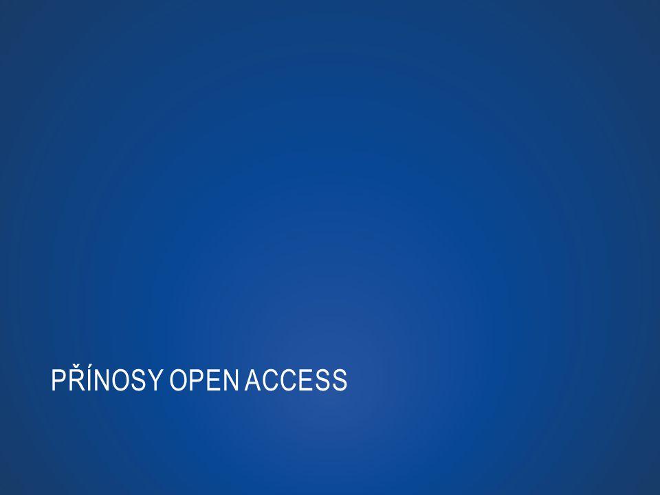 Přínosy Open Access http://www.youtube.com/watch v=y9Jh_GffRPU