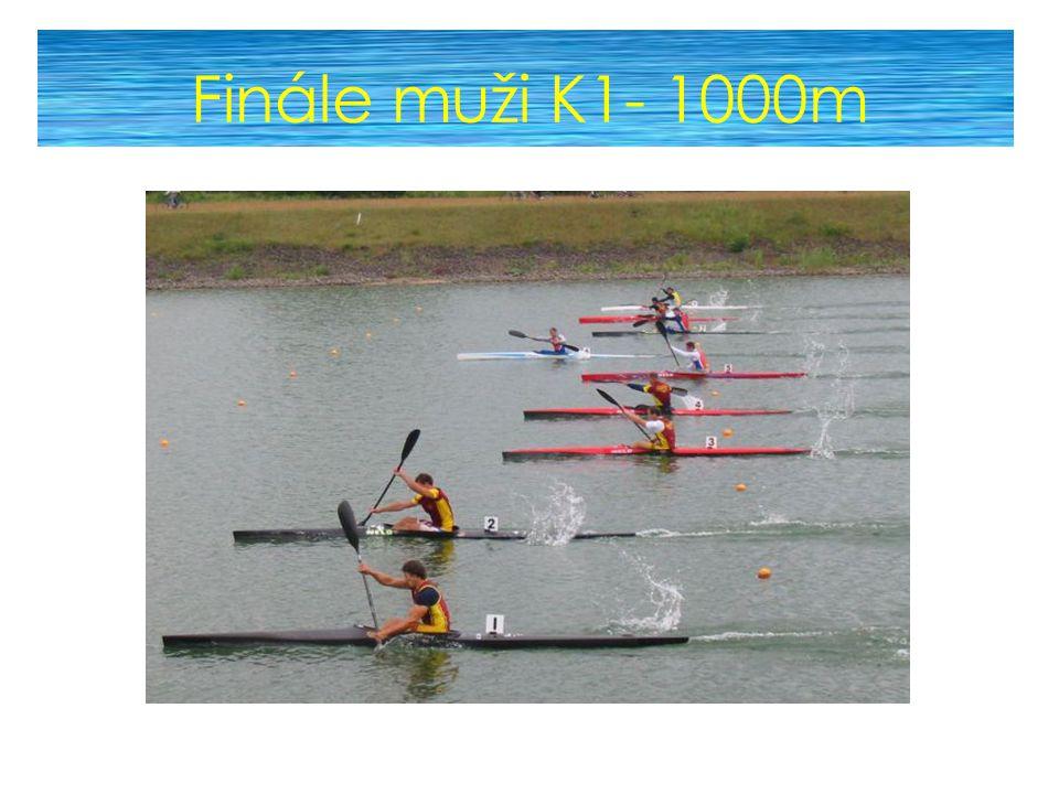 Finále muži K1- 1000m