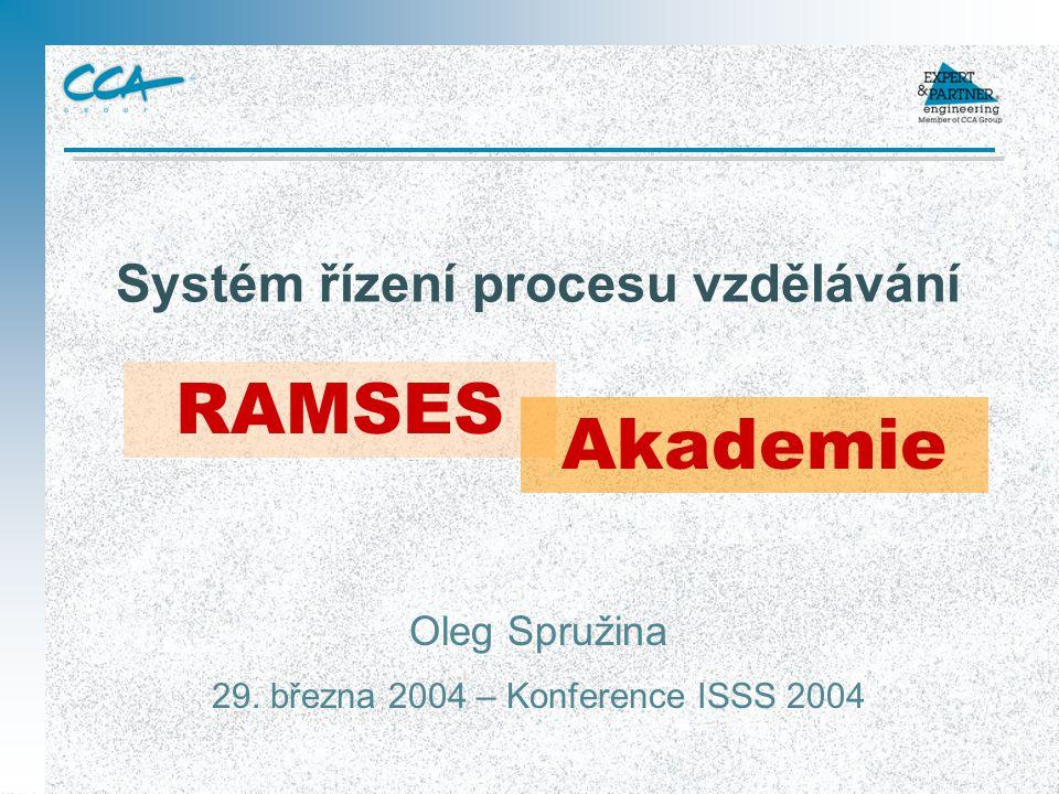 Systém řízení procesu vzdělávání