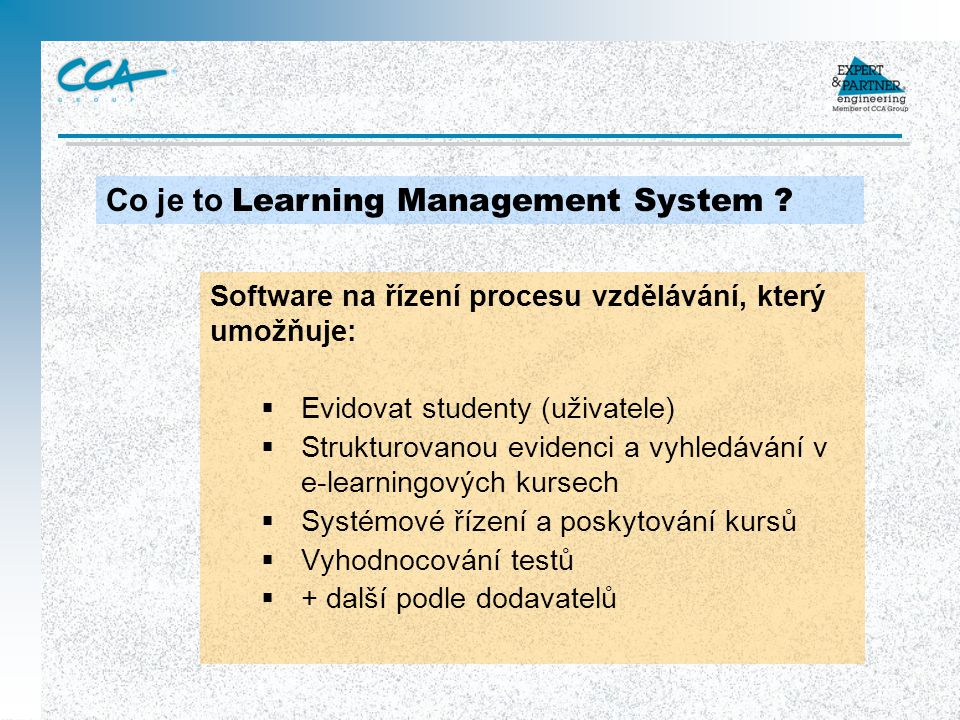 Co je to Learning Management System