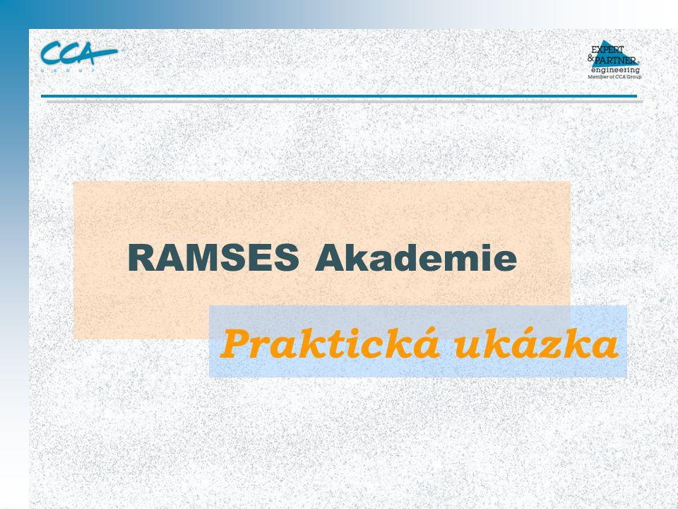 RAMSES Akademie Praktická ukázka