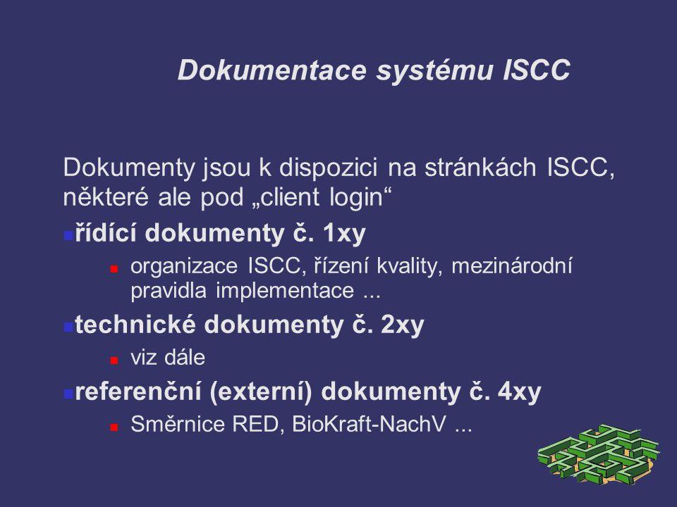Dokumentace systému ISCC