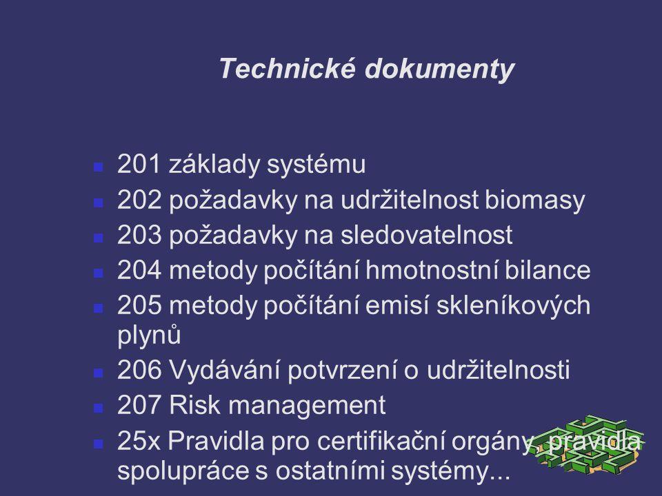 Technické dokumenty 201 základy systému