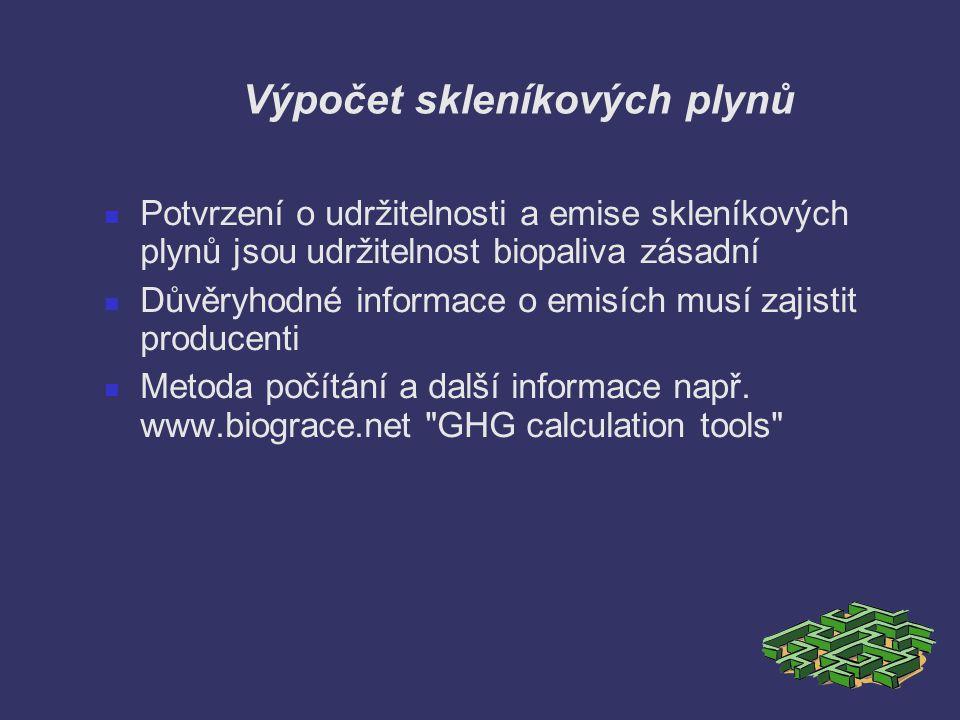 Výpočet skleníkových plynů
