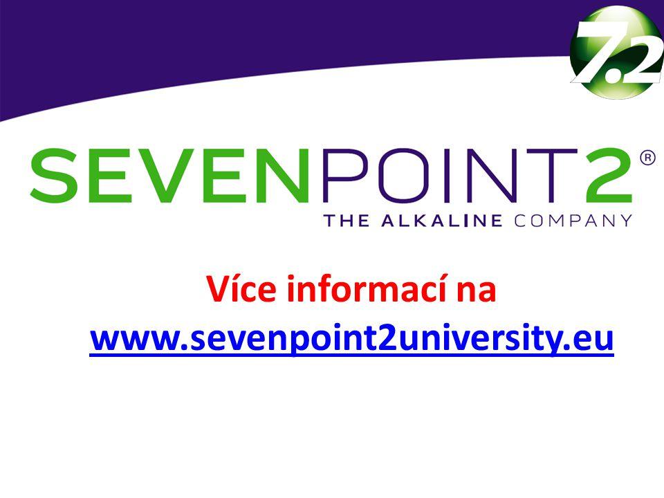Více informací na www.sevenpoint2university.eu