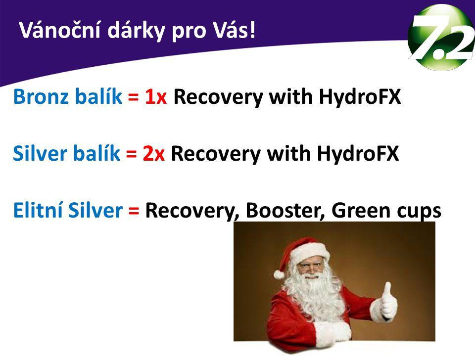 Vánoční dárky pro Vás! Bronz balík = 1x Recovery with HydroFX