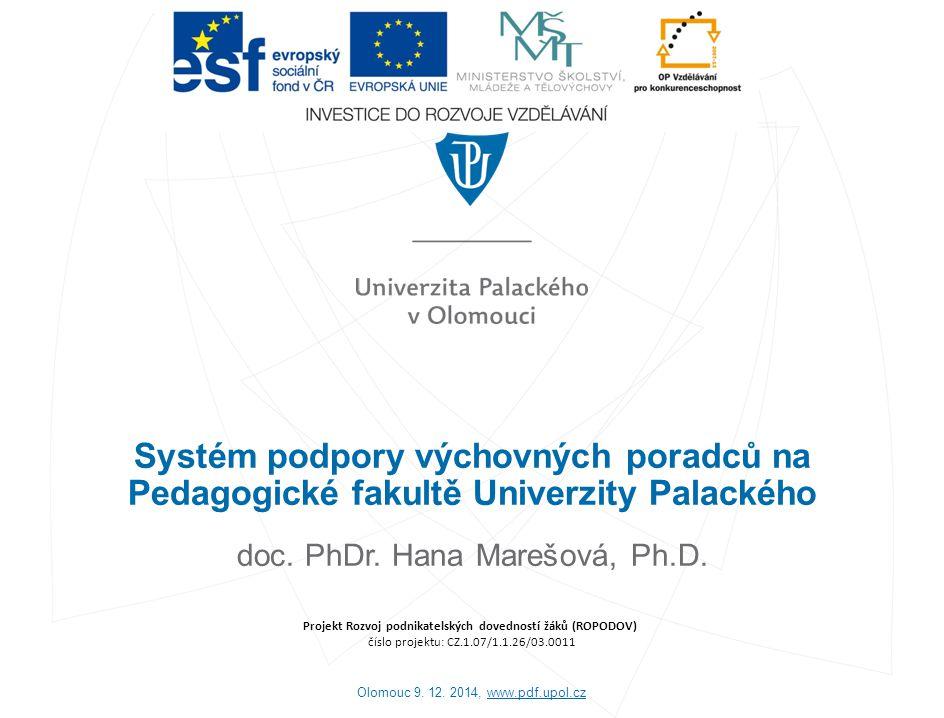 doc. PhDr. Hana Marešová, Ph.D.
