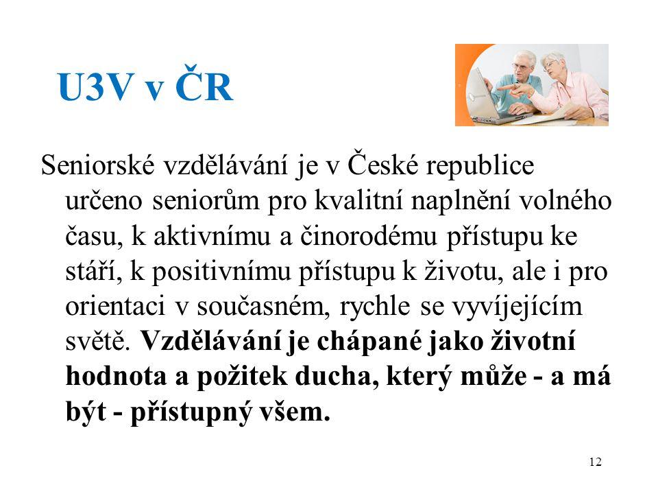 U3V v ČR