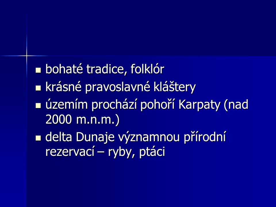 bohaté tradice, folklór