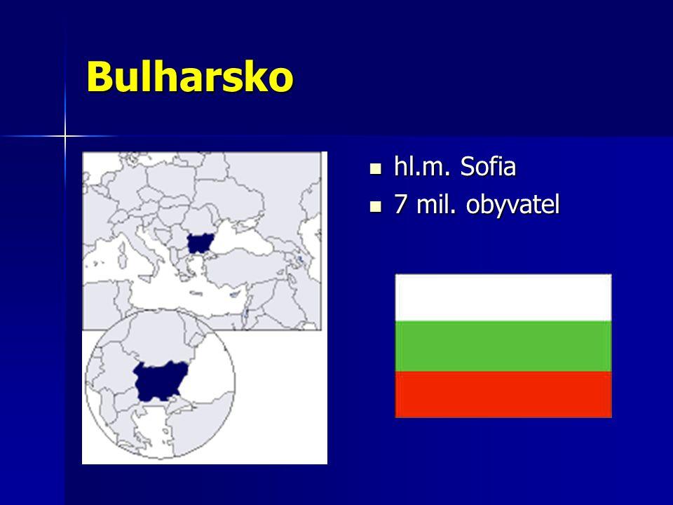 Bulharsko hl.m. Sofia 7 mil. obyvatel