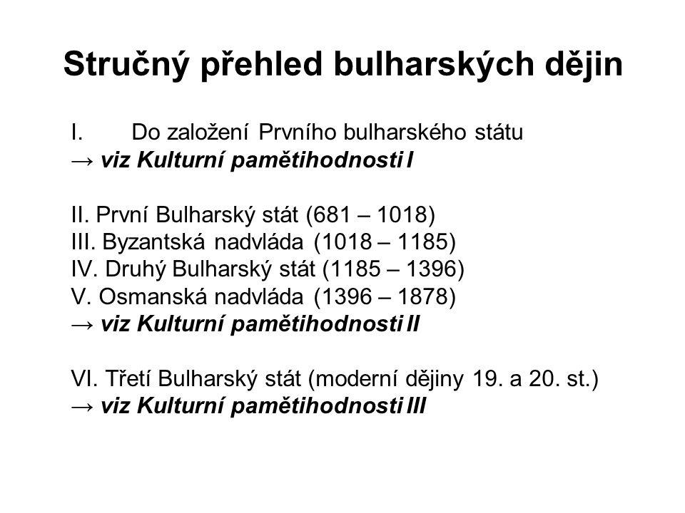 Stručný přehled bulharských dějin