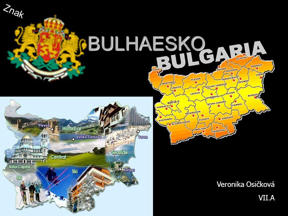 Znak BULHAESKO Veronika Osičková VII.A