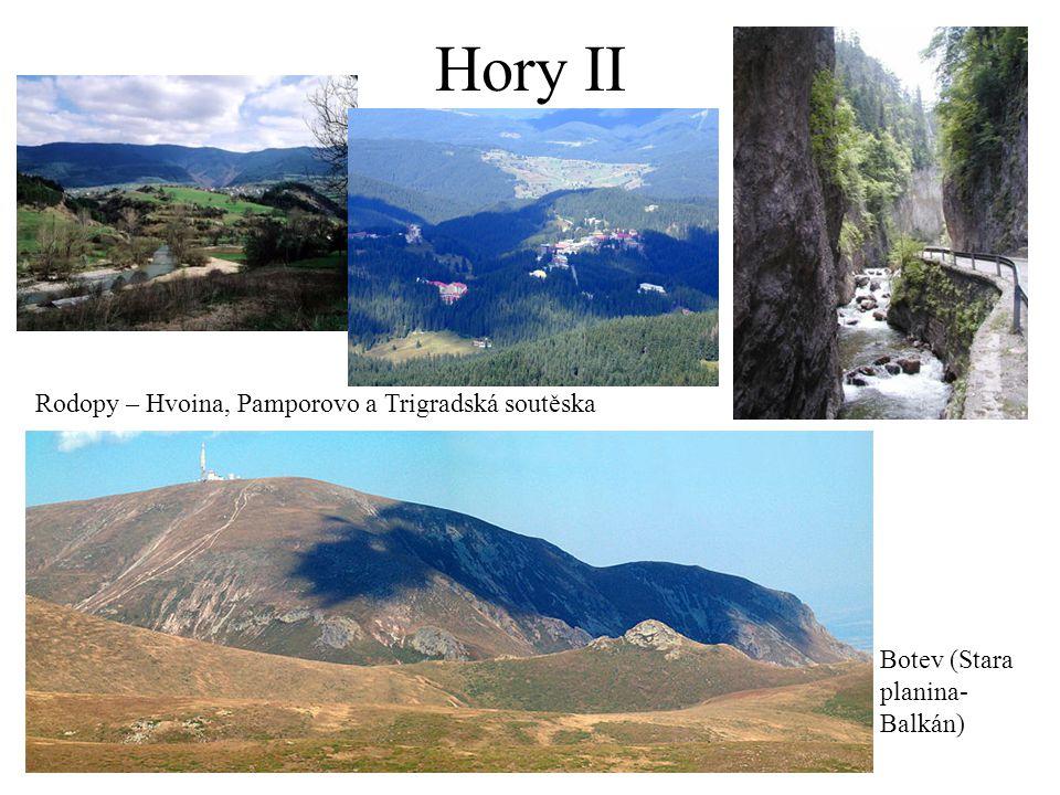 Hory II Rodopy – Hvoina, Pamporovo a Trigradská soutěska