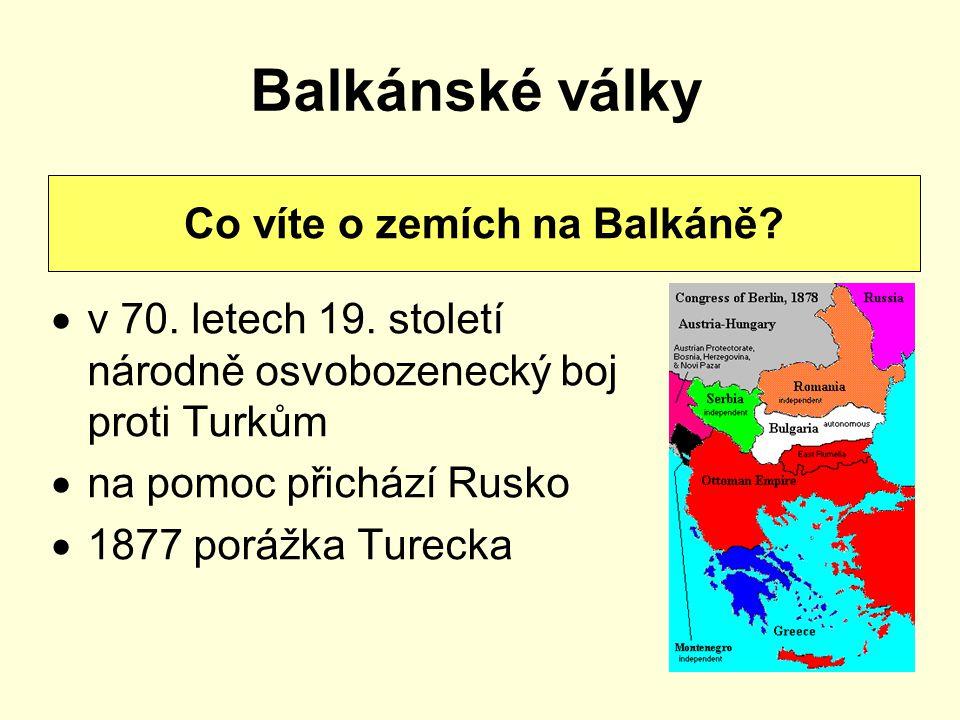 Co víte o zemích na Balkáně