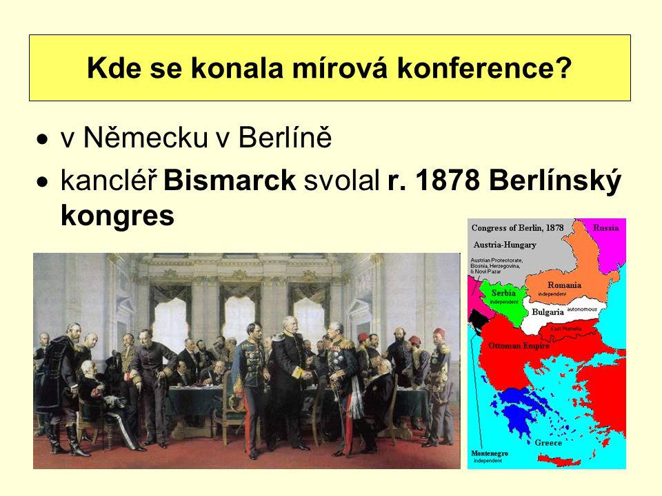 Kde se konala mírová konference