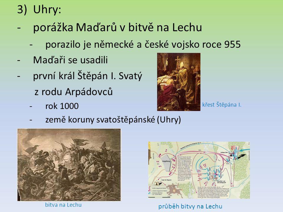 porážka Maďarů v bitvě na Lechu