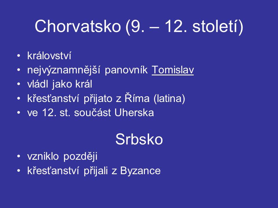 Chorvatsko (9. – 12. století)