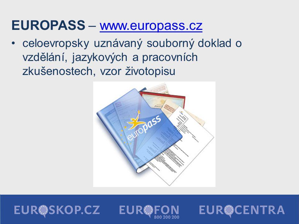 EUROPASS – www.europass.cz