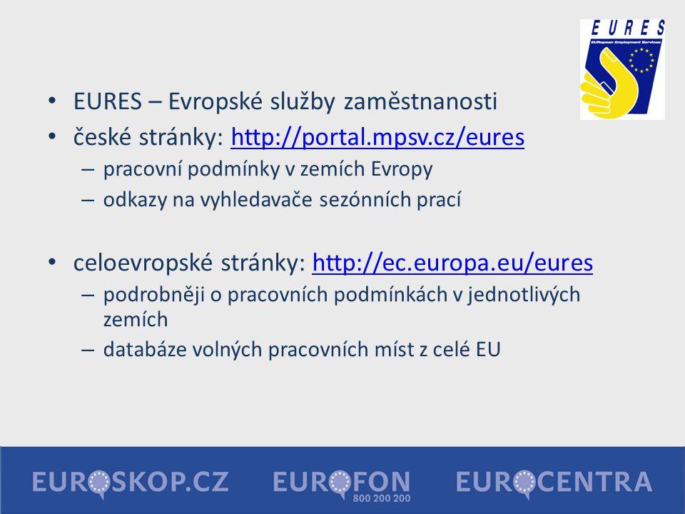 EURES – Evropské služby zaměstnanosti