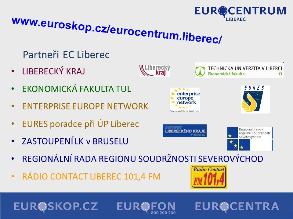 www.euroskop.cz/eurocentrum.liberec/ Partneři EC Liberec